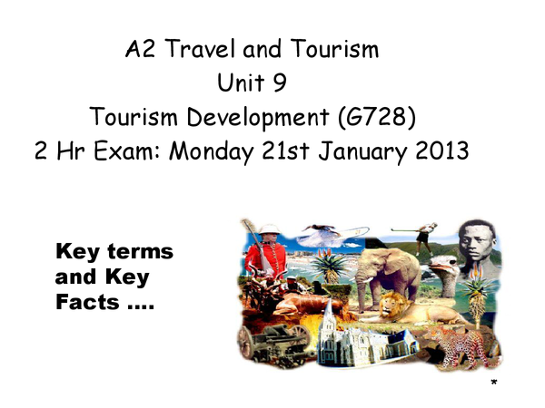 Preview of Tourism Development