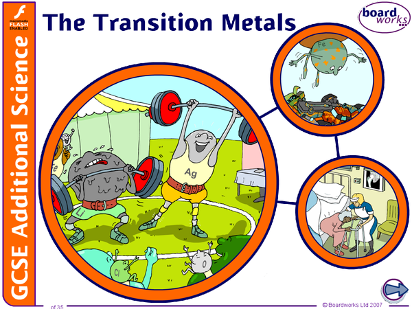 Preview of transition metals continued