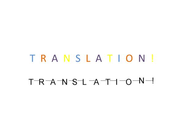 Preview of Translation Slide show!