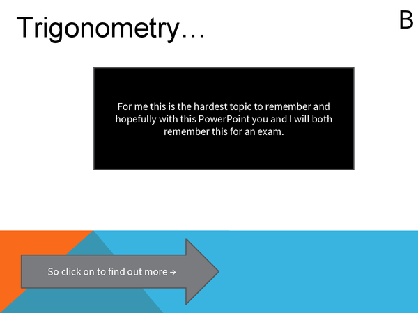 Preview of Trigonometry powerpoint