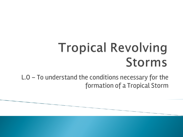 Preview of Tropical revolving storms