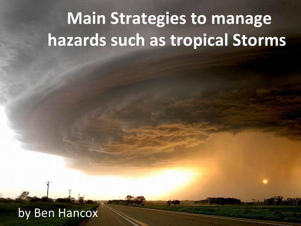 Preview of Tropical Revolving Storms - Managing