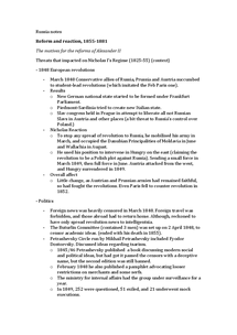 Preview of Tsarist Russia complete AS notes (AQA)