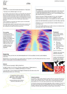 Preview of Tuberculosis poster.