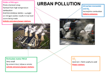 Preview of Types of urban pollution