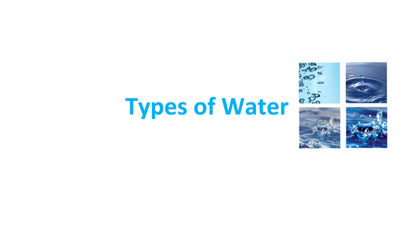 Preview of Types of Water
