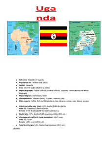 Preview of Uganda Case Study