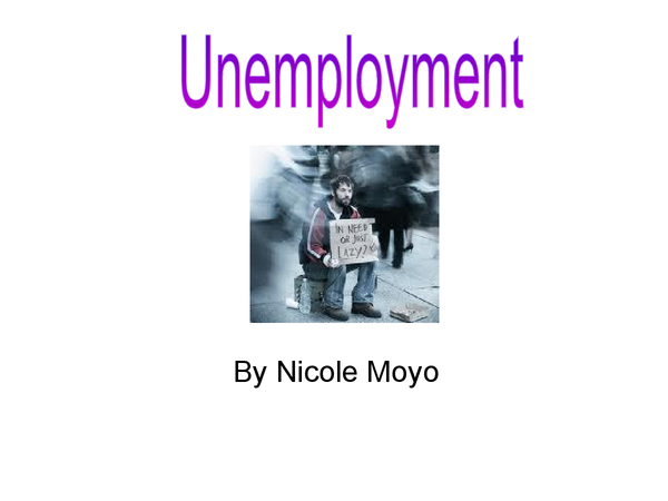 Preview of Unemployment