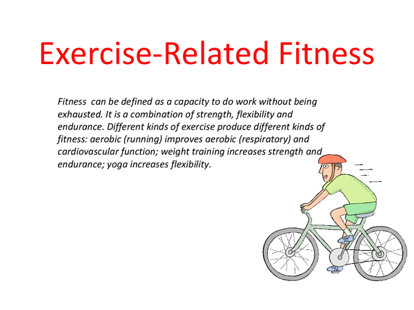 Preview of Unit 13 Exercise-related fitness