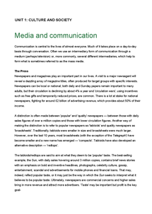 Preview of Unit 1.7 Media and communication.doc