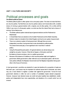 Preview of Unit 1.8 Political processes and goals (1).doc