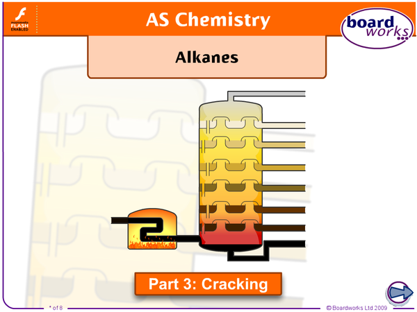 Preview of Unit 1 AQA AS Chemistry - Alkanes