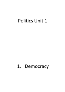 Preview of Unit 1 Revision Cards