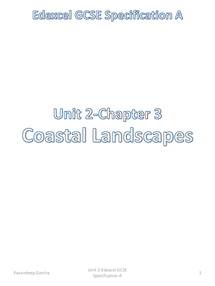 Preview of Unit 2 Coastal Landscapes & Watery World