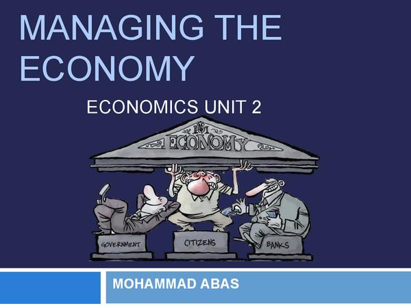 Preview of UNIT 2 ECONOMICS - COMPLETE REVISION NOTES