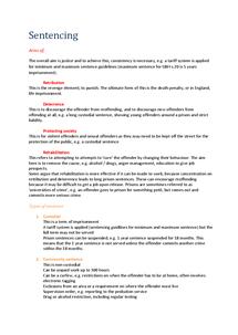 Preview of Unit 2 | Sentencing (AQA)