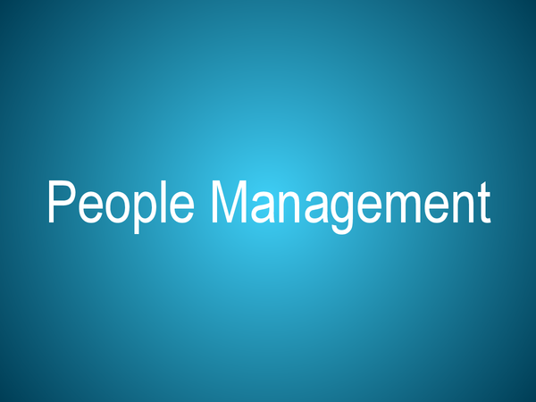 Preview of Unit 3 - People management