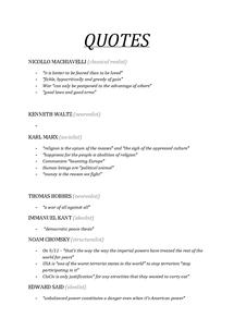Preview of Unit 3D: Quotes