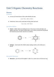 Preview of Unit 5 Organic Reactions