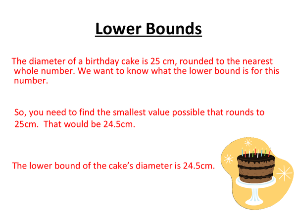 Preview of Upper and Lower Bounds