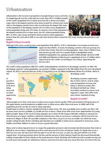 Preview of Urbanisation Basics
