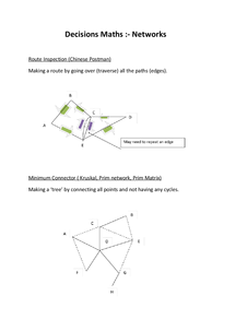 Preview of USE OF MATHS decision networks