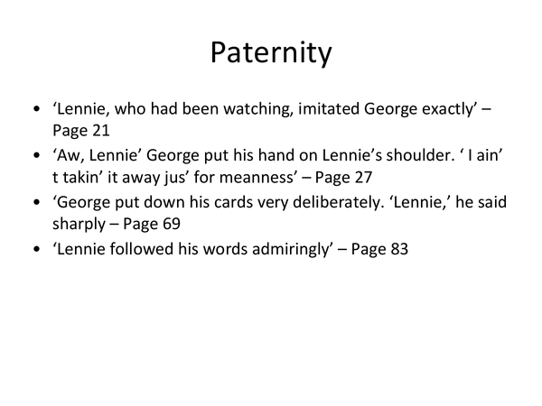 Preview of Useful quotes on George