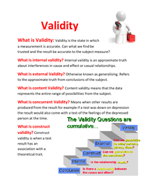 Preview of Validity