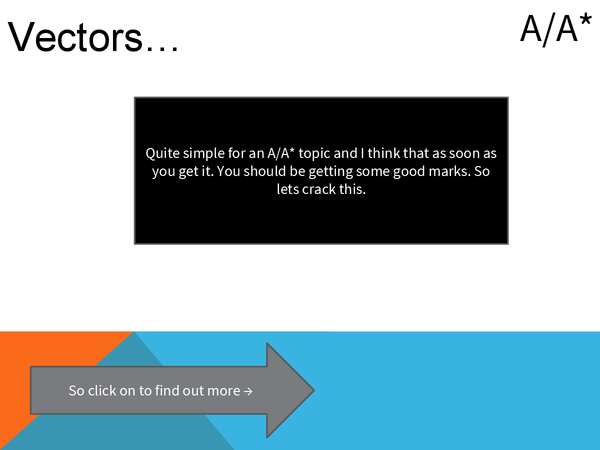 Preview of Vectors powerpoint