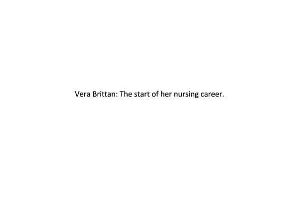 Preview of Vera Brittain/Women in war/Wider reading for AS English Literature