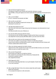Preview of Vietnam War (US involvement)