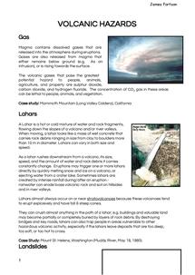 Preview of Volcanic Hazards