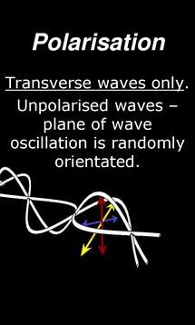Preview of Waves - Polarisation - smart phone physics