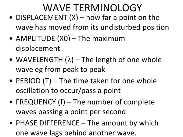 Preview of Waves (Unit 2 Module 4 OCR)