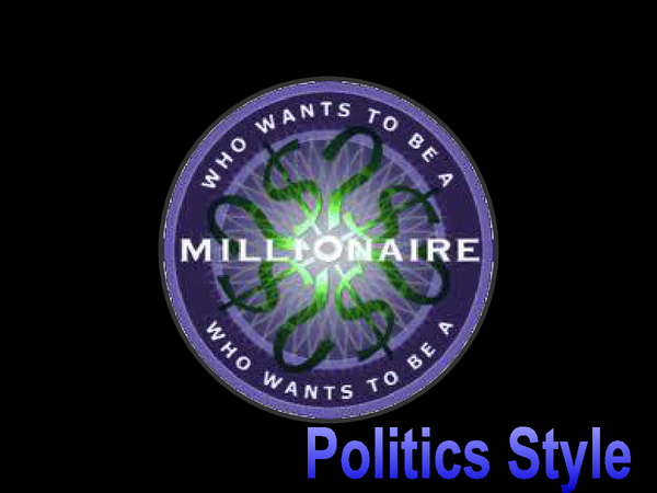 Preview of Who Wants To Be A Millionaire? Edexcel Government and Politics Ideologies Unit 3 revision