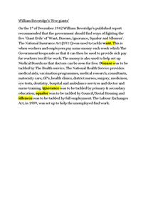 Preview of William Beveridge's 'Five Giants'