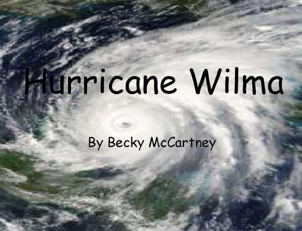 Preview of Wilma Case Srudy