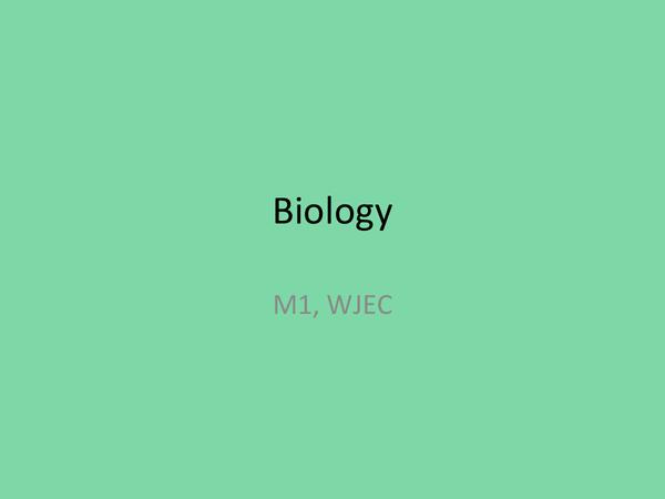 Al biology past papers