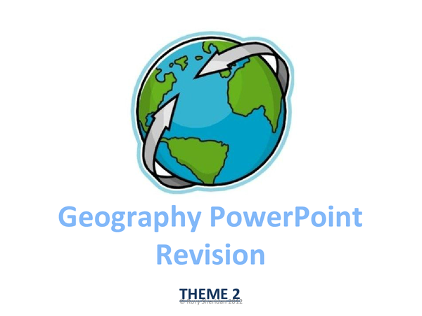 Preview of WJEC Geography Theme 2 Case Studies PowerPoint Revision quiz