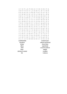 Preview of Wordsearch 1