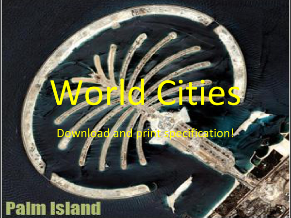 Preview of World Cities Introduction