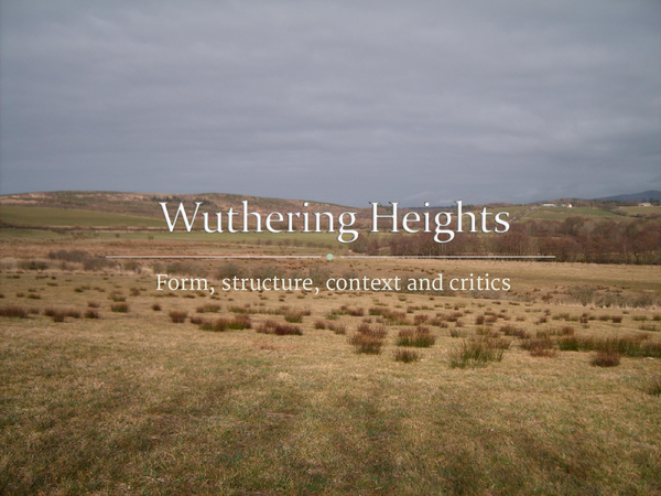 Preview of Wuthering Heights - Notes