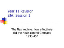 Preview of Year 11 Germany revision 1