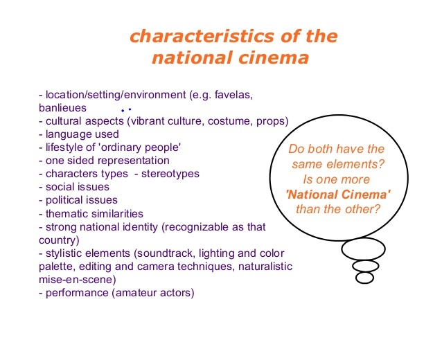 charateristics of World Cinema